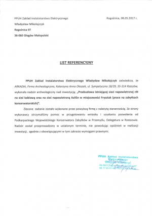 PPUH Zakład Instalatorstwa Elektrycznego Władysław Mikołajczyk