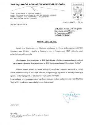 Zarząd Dróg Powiatowych w Gliwicach
