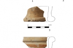 Wybrane fragmenty naczyń - Grzmucin i Małęczyn Stary