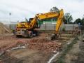 Nadzór archeologiczny nad budową salonu samochodowego Opel w Gliwicach (2)