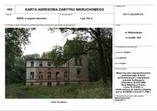 Kotliszowice - dwór w zespole dworskim