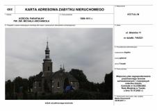 Toszek - Kościół Parafialny pw. św. Michała Archanioła
