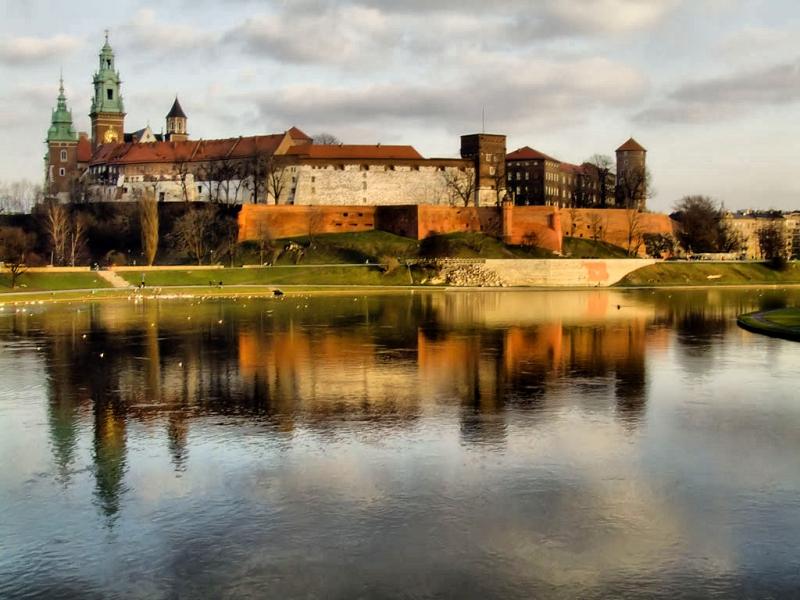 Wawel w Krakowie.