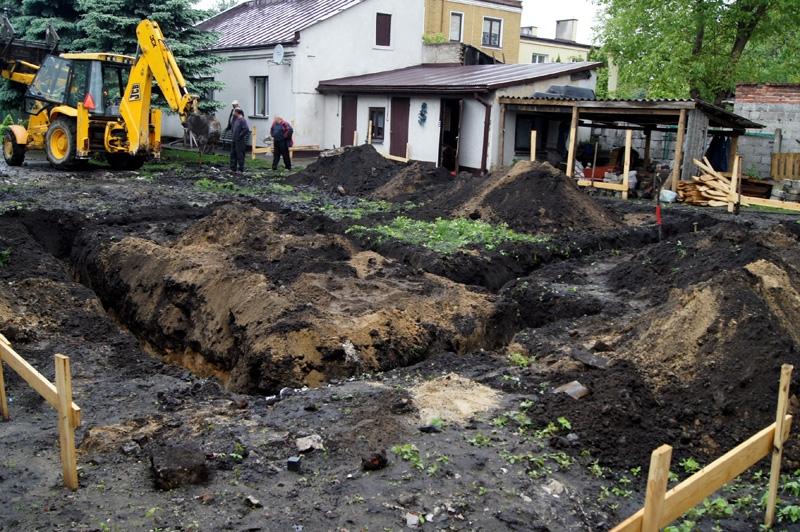 Nadzór archeologiczny pod budowę domu w Radomiu