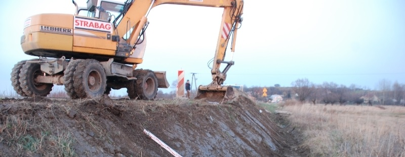 Nadzór archeologiczny przy rozbudowie drogi wojewódzkiej 880 Jarosław - Pruchnik
