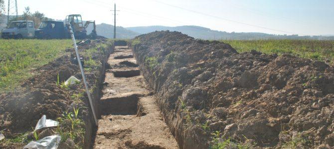 Wykopaliskowe badania archeologiczne