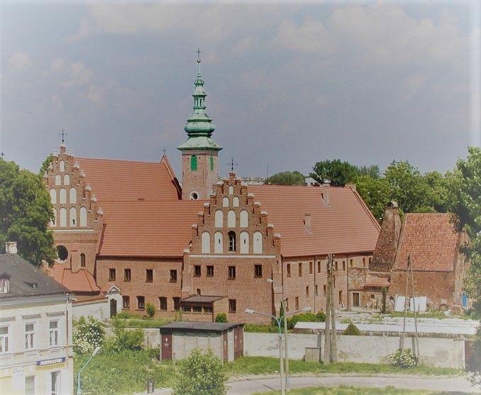 Widok na Klasztor Ojców Bernardynów w Radomiu